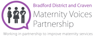 Bradford District and Craven Maternity Voices Partnership logo.